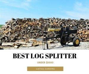 Best Log Splitter Under $1000