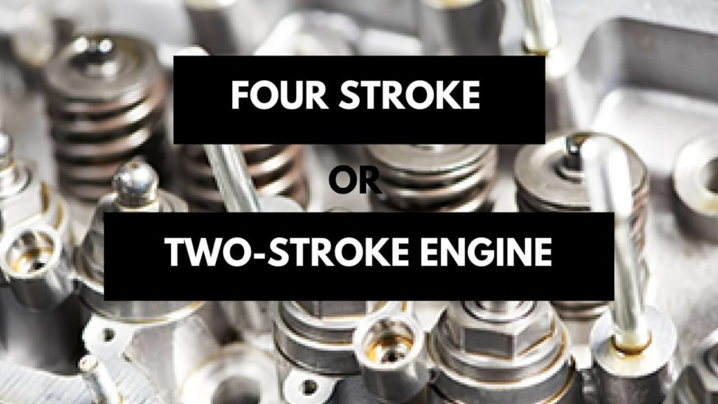 four stroke or two stroke engine gas weed eate
