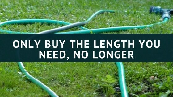 how long should the garden hose be