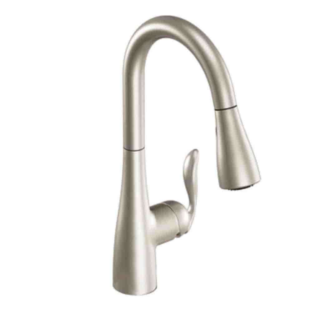 Moen Arbor Stainless Finish Faucet: