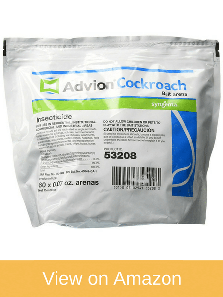 Advion Cockroach Bait Station - Best Roach killer for apartments