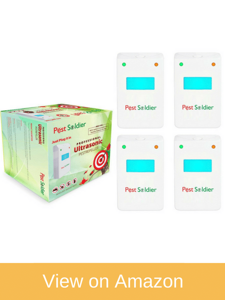 Pest Soldier Ultrasonic Repeller - New Arrival Roach Killer