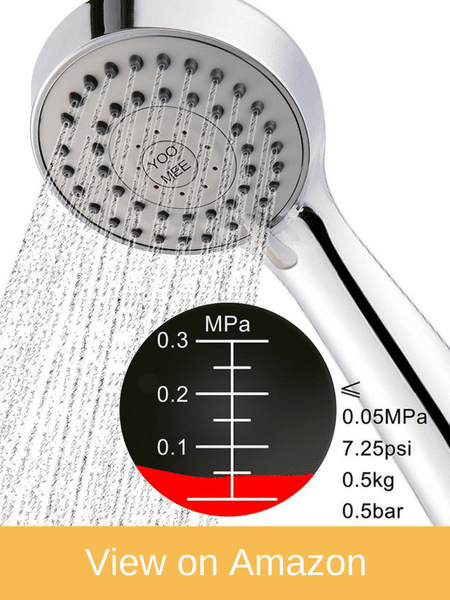 YOO.MEE High-Pressure Handheld Shower Head