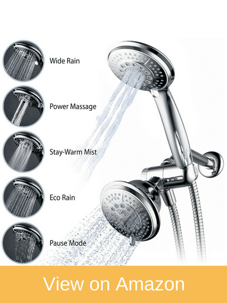 Hydroluxe Full-Chrome Shower-Head