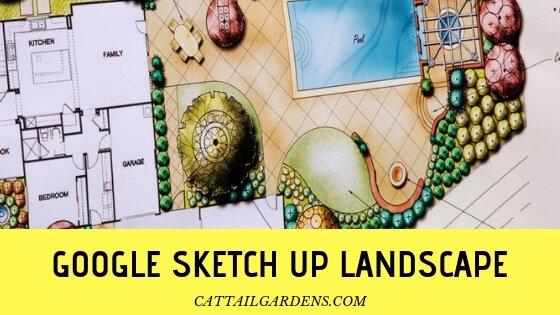 google sketch up landscape