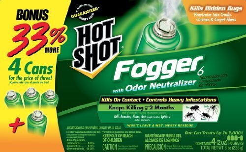 best flea fogger best flea bomb